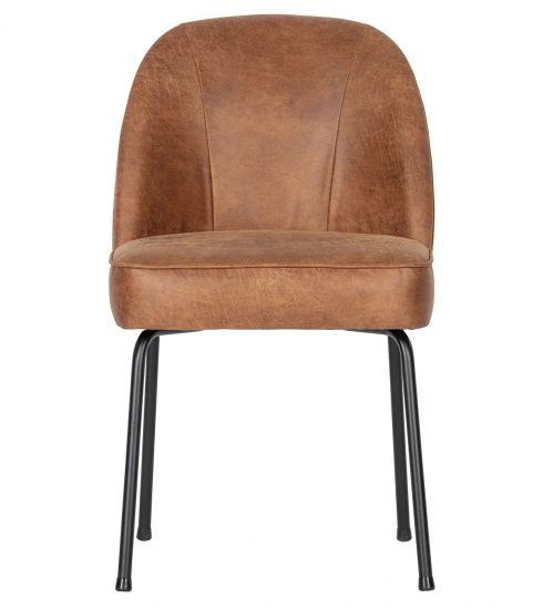 Vogue Matstol - Cognac Läder