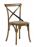 Vintage Matstol m. sits i rotting - Hardwood
