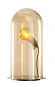 EBB & FLOW  - Glasdome till Speak Up! Lamp, Golden smoke, Ø20