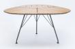 HOUE - LEav Trädgårdsbord  - Bambu/metalll
