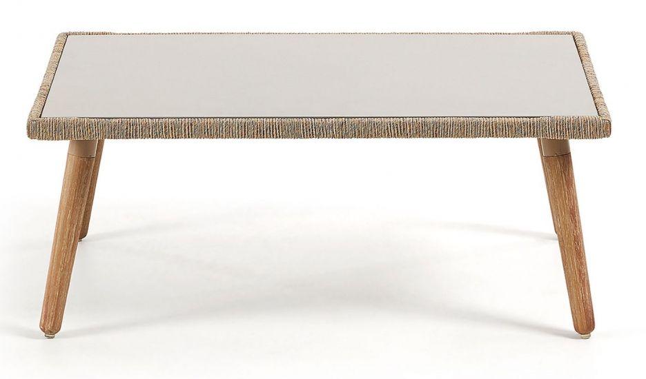 Kave Home - Gillian Loungebord 100x60 - Eucalyptus