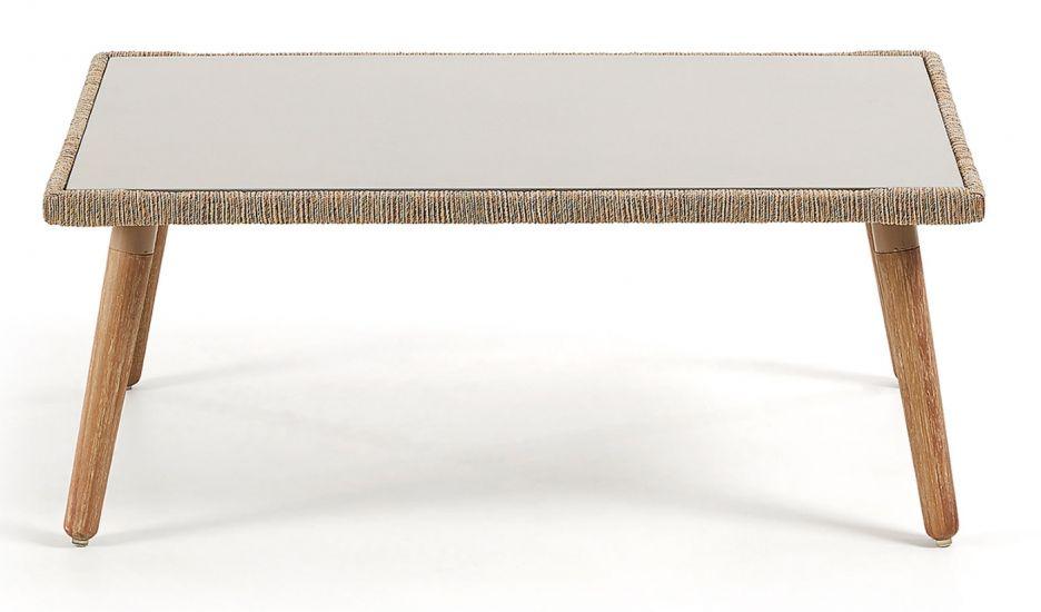 LaForma - Gillian Loungebord 100x60 - Eucalyptus