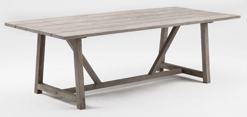Sika-Design George Teak Trädgårdsbord - 240x100