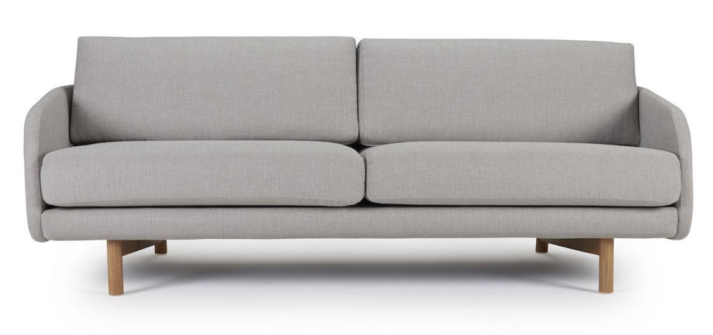 Kragelund Tved 3-sits soffa, Grå