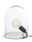 EBB & FLOW  - Glasdome till Glow in a Dome, Klar, Ø20