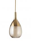 EBB & FLOW  - Lute Pendel, S, Golden smoke / Guld