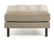 Kave Home Bogart Puff - Taupe