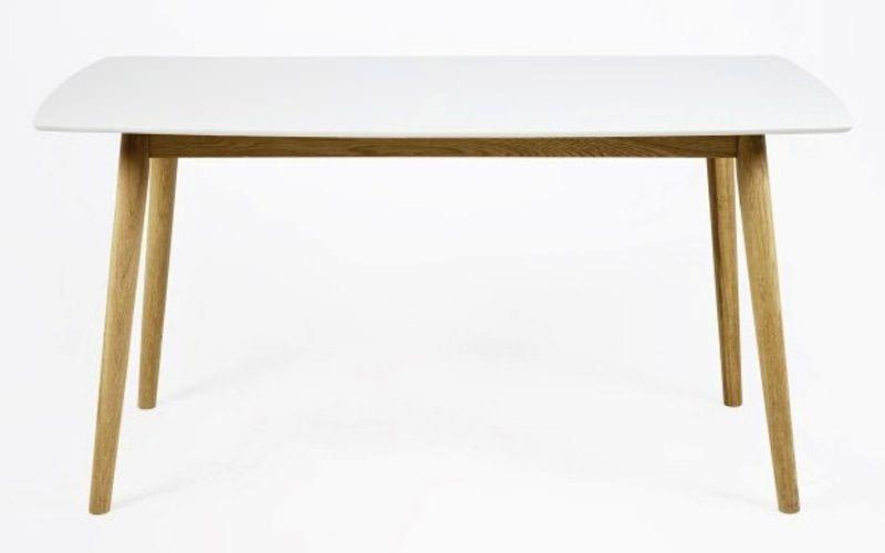 Julius Matbord - Vit - 150x80
