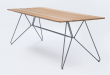 HOUE - SKETCH Trädgårdsbord 220x88 - Bambu/metalll