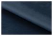 Ramsey Loungestol Marinblå tyg - Svarta ben