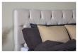 Särna sänggavel, Beige sammet, B:120 