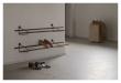 We Do Wood Shoe Rack - Rökfärgad ek/Svart