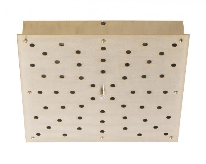 Ebb&Flow - Ceiling box, square, M, Guld
