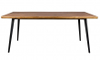 Dutchbone - Alagon Matbord 160x90 - Svarta ben