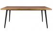 Dutchbone - Alagon Matbord 220x90 - Svarta ben