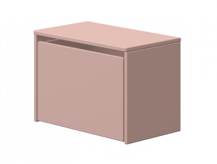 FLEXA - Dots Förvaringsbänk - Ljusrosa