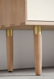 Andersen Furniture - S3 Skänk - Vitoljad ek