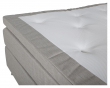 Rättvik Kontinentalsäng Fast/Fast med 5 komfortzoner, Beige tyg, 180x200