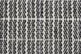 Fabula Living - Tanne Vit/Svart Kelimmatta - 140x200