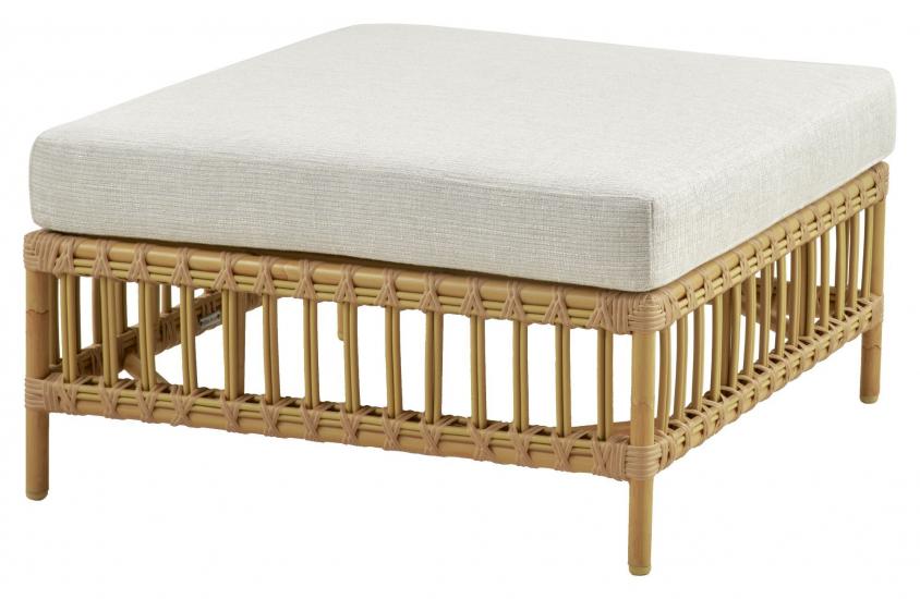 Sika-Design Maggie Puff/Loungebord modul, Alu-Rattan