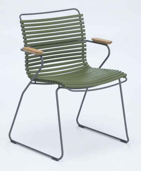 HOUE - CLICK Trädgårdsstol m. armstöd  - Olive