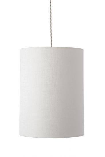 Ebb&Flow - Lampskärm, vit marl, Ø30,