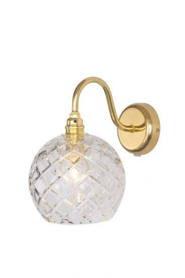 Ebb&Flow - Rowan Krystal Vägglampa, Guld, medium check