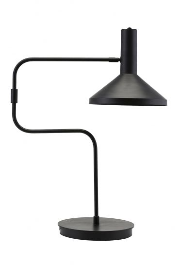House Doctor Mall Made Bordslampa, Svart