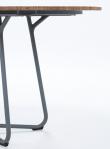 HOUE - CIRCLE Trädgårdsbord Ø 110 - Bambu/Aluminium