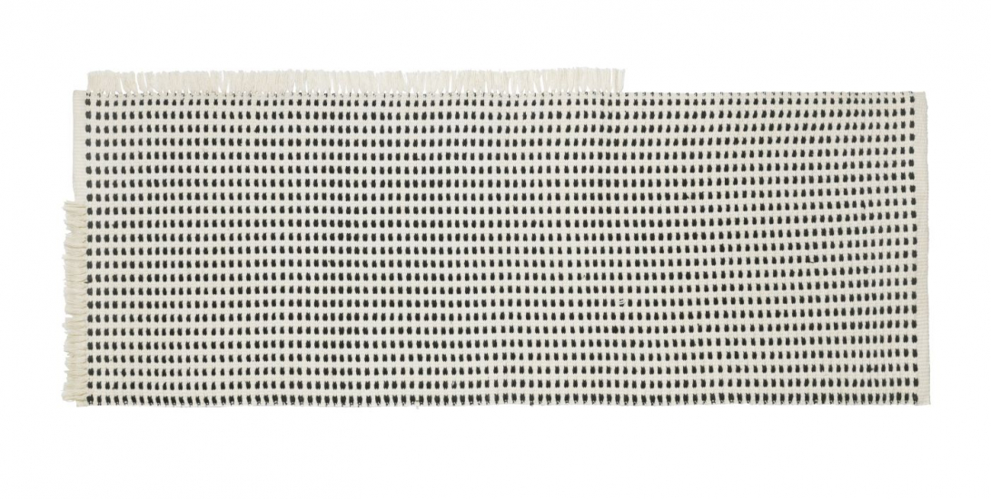 Ferm Living - Way Outdoor Løber 180x70 - Off White/Blå
