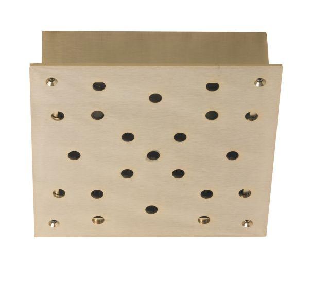 Ebb&Flow - Ceiling box, square, S, Guld