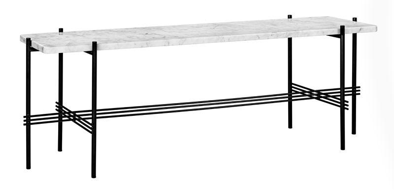GUBI - TS1 Consol Rectangulaire - Vit marmor