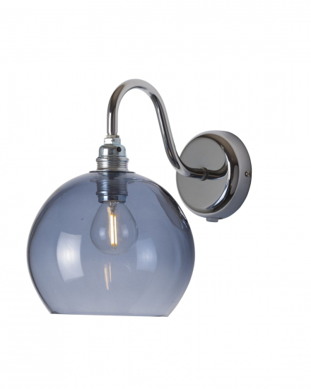 EBB & FLOW  - Rowan Vägglampa, deep blue, Ø15,5