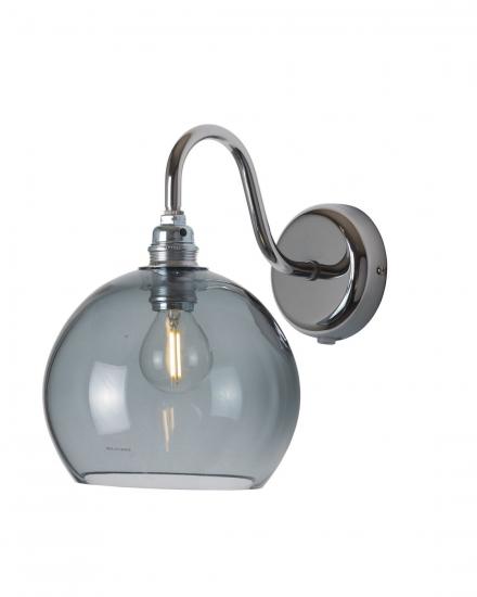 EBB & FLOW  - Rowan Vägglampa, smokey grå, Ø15,5