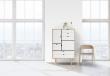 Andersen Furniture - S5 Skänk - Såpabehandlad ek/Vit