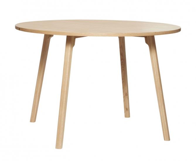 Hübsch Matbord Ø115 - Ek