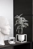 by Lassen - Kubus Flowerpot 10, Vit