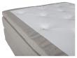 Furudal Kontinentalsäng Fast/Fast med 7 komfortzoner, Beige tyg, 160x200