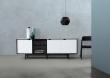 Andersen Furniture - S1 Skänk - Svart/Vit