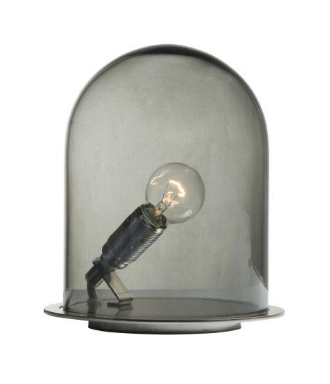 Ebb&Flow - Glasdome till Glow in a Dome, smokey grå, Ø15,5
