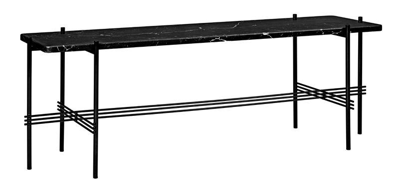 GUBI - TS1 Consol Rectangulaire - Svart marmor