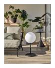 Kave Home Dinesh LED Lampa – Vit/Svart