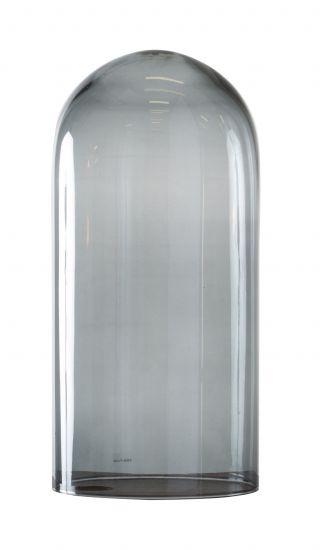 Ebb&Flow - Glasdome till Speak Up! Lamp, smokey grå, Ø20