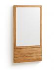 Kave Home - Sunday Spegel till badrum - Teak