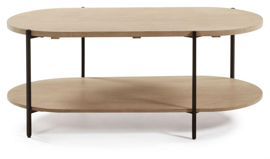 Kave Home - Palmia Soffbord 110x55 - Natur