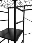 Kave Home - Storn Klädstativ - Svart Metall