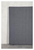Alvik sänggavel, Mörkgrått tyg, B:120 