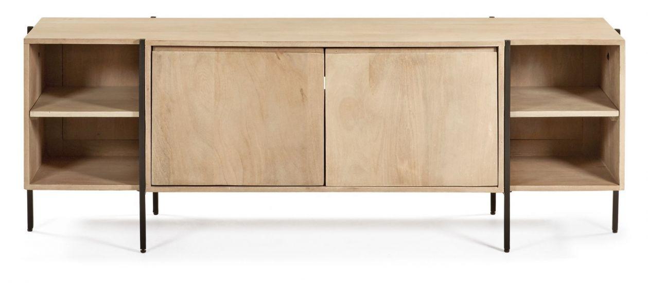Kave Home - Palmia TV-bänk 160x55 - Natur