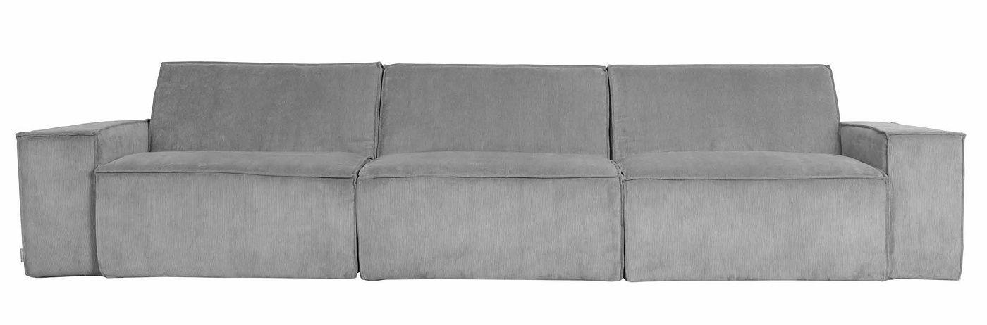 Zuiver - James 3-sits Soffa - Cool grey