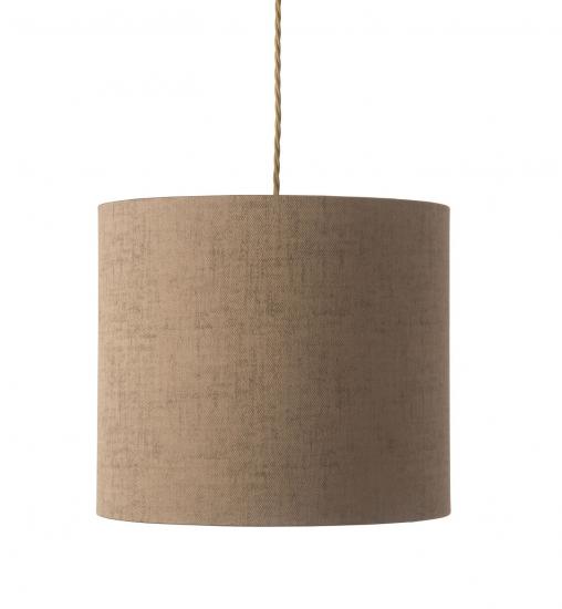EBB & FLOW  - Lampskärm, bronze marl, Ø35